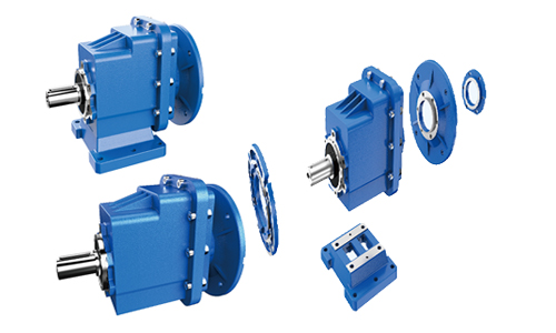 Helical Gearboxes SRC02